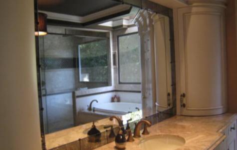 custom bathroom vanity mirror